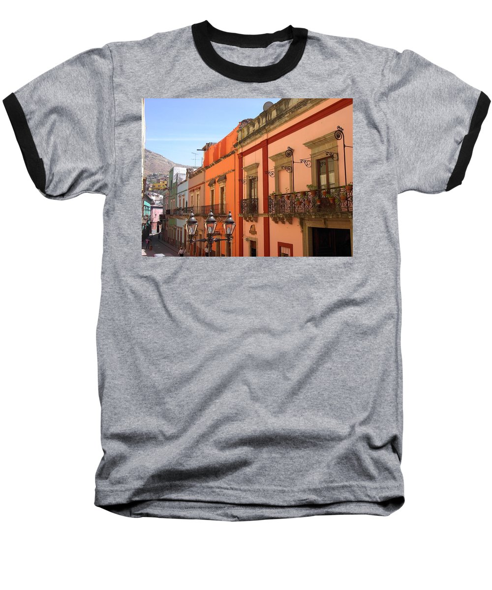 Charity Baseball T-Shirt featuring the photograph Guanajuato by Mary-Lee Sanders