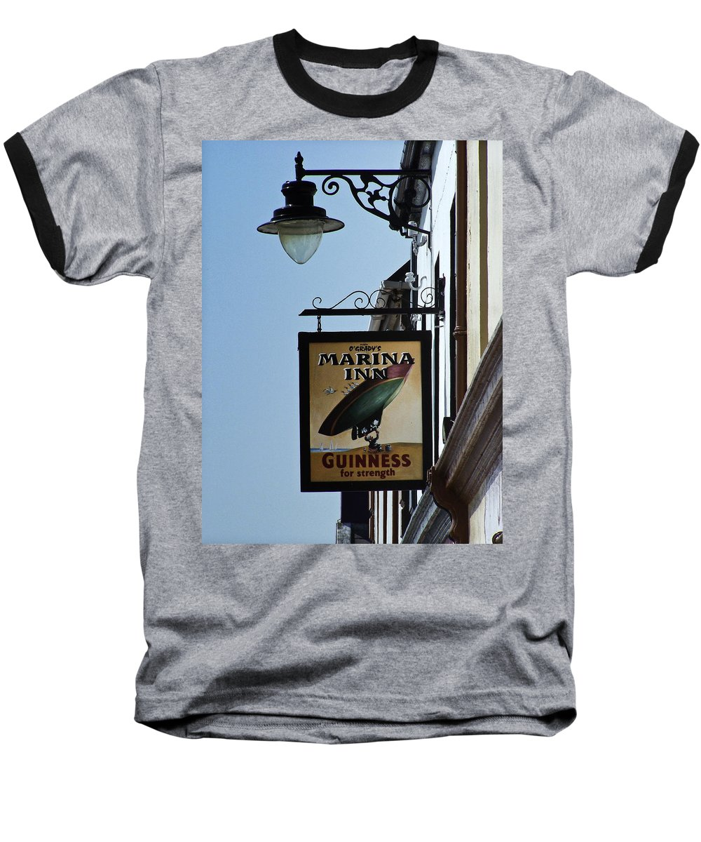 Irish Baseball T-Shirt featuring the photograph Guinness For Strength Dingle Ireland by Teresa Mucha