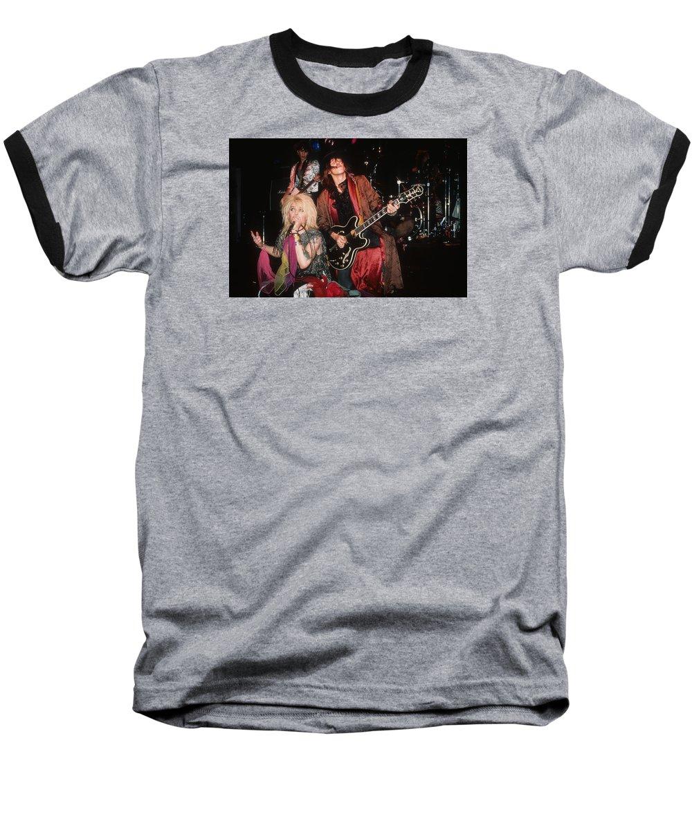 Hanoi Rocks Baseball T-Shirt featuring the photograph Hanoi Rocks by Rich Fuscia