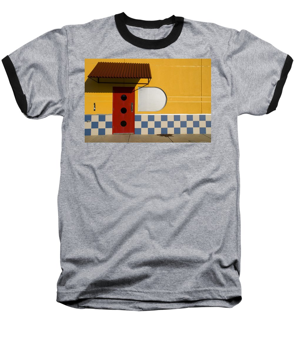 Architecture Baseball T-Shirt featuring the photograph Happy Days by Skip Hunt