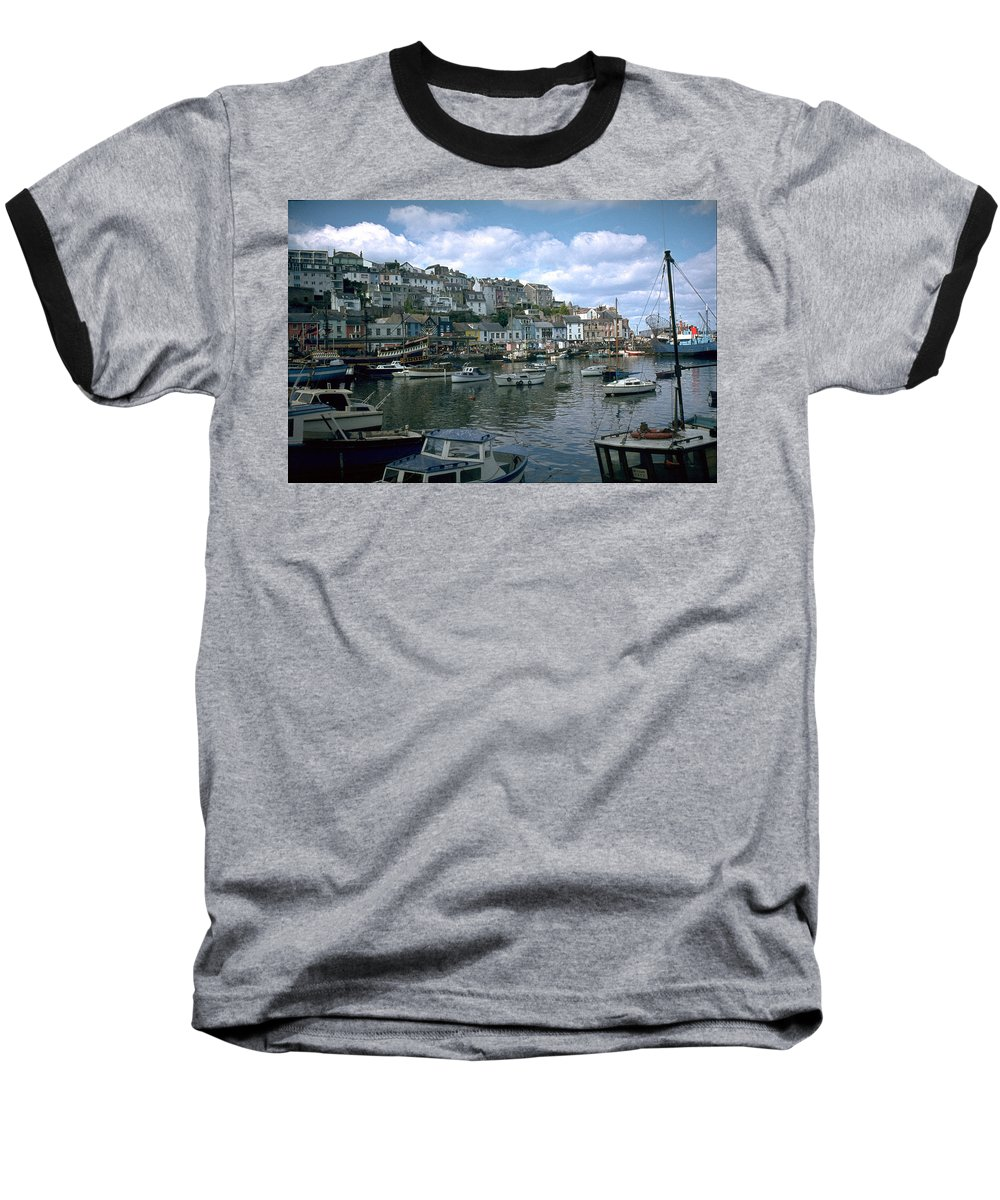 Great Britain Baseball T-Shirt featuring the photograph Harbor by Flavia Westerwelle