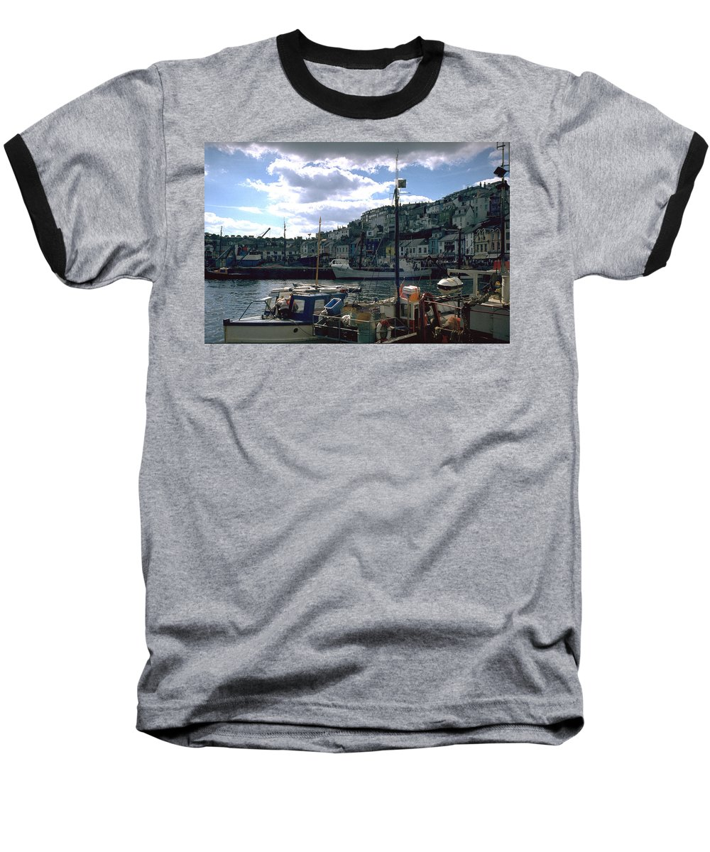 Great Britain Baseball T-Shirt featuring the photograph Harbor II by Flavia Westerwelle