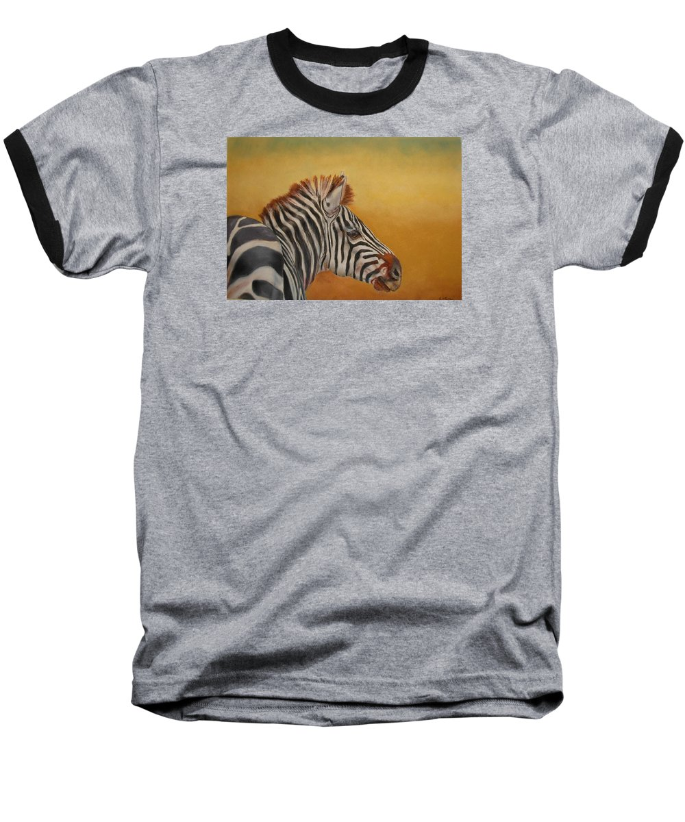 Africa Baseball T-Shirt featuring the painting Hello Africa by Ceci Watson