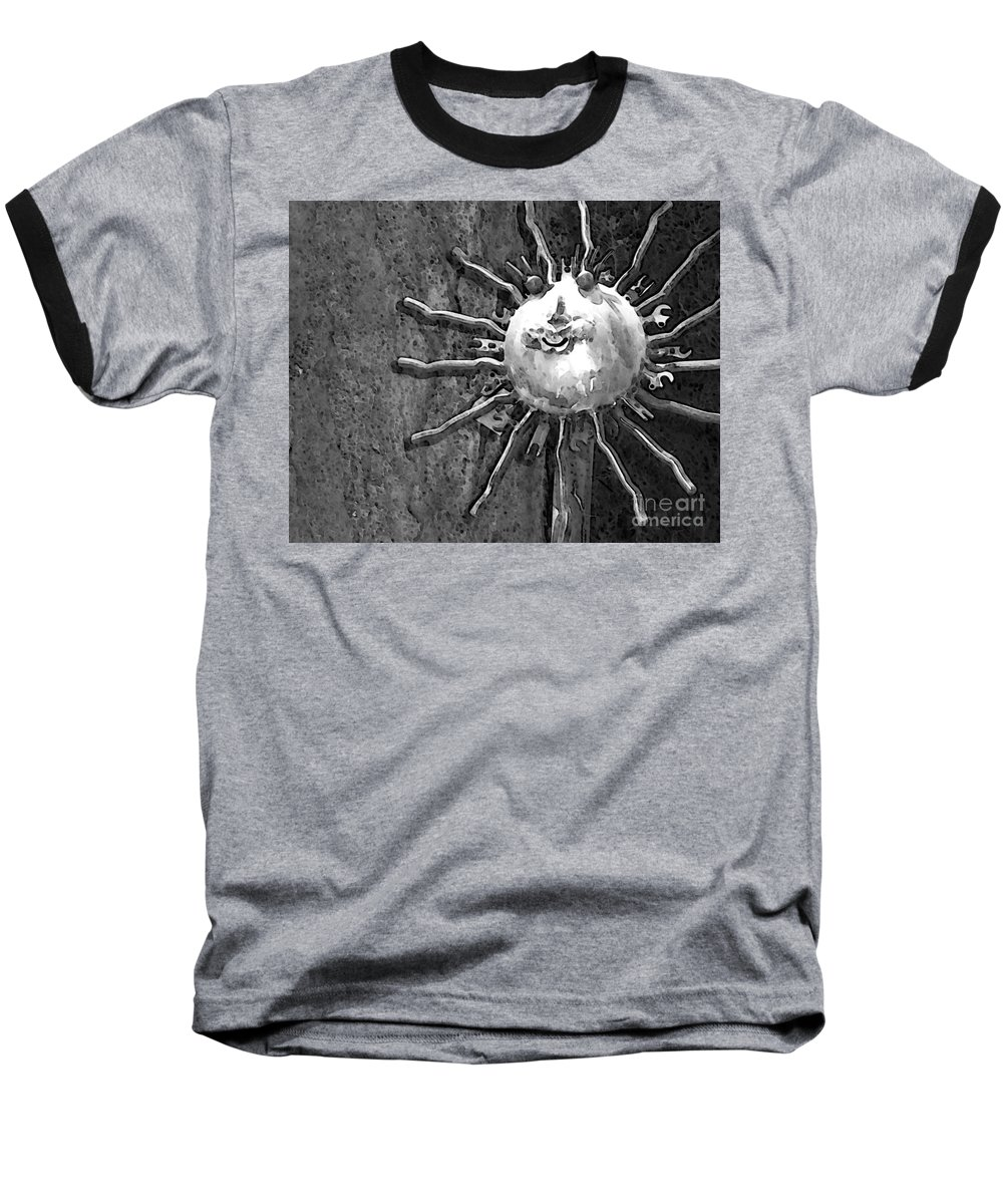 Sun Baseball T-Shirt featuring the photograph Here Comes The Sun by Debbi Granruth