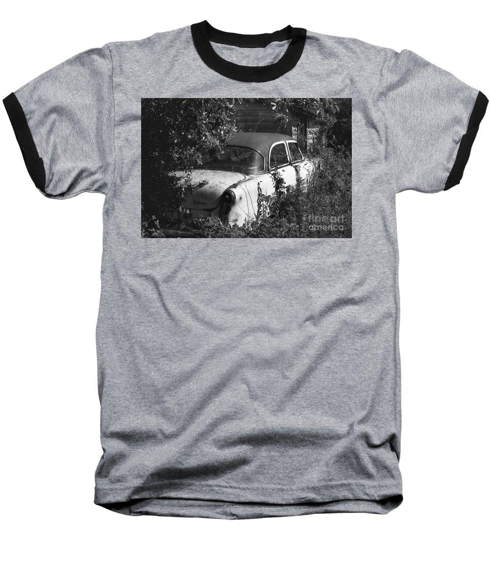 Abandoned Baseball T-Shirt featuring the photograph Hidden Treasure by Richard Rizzo