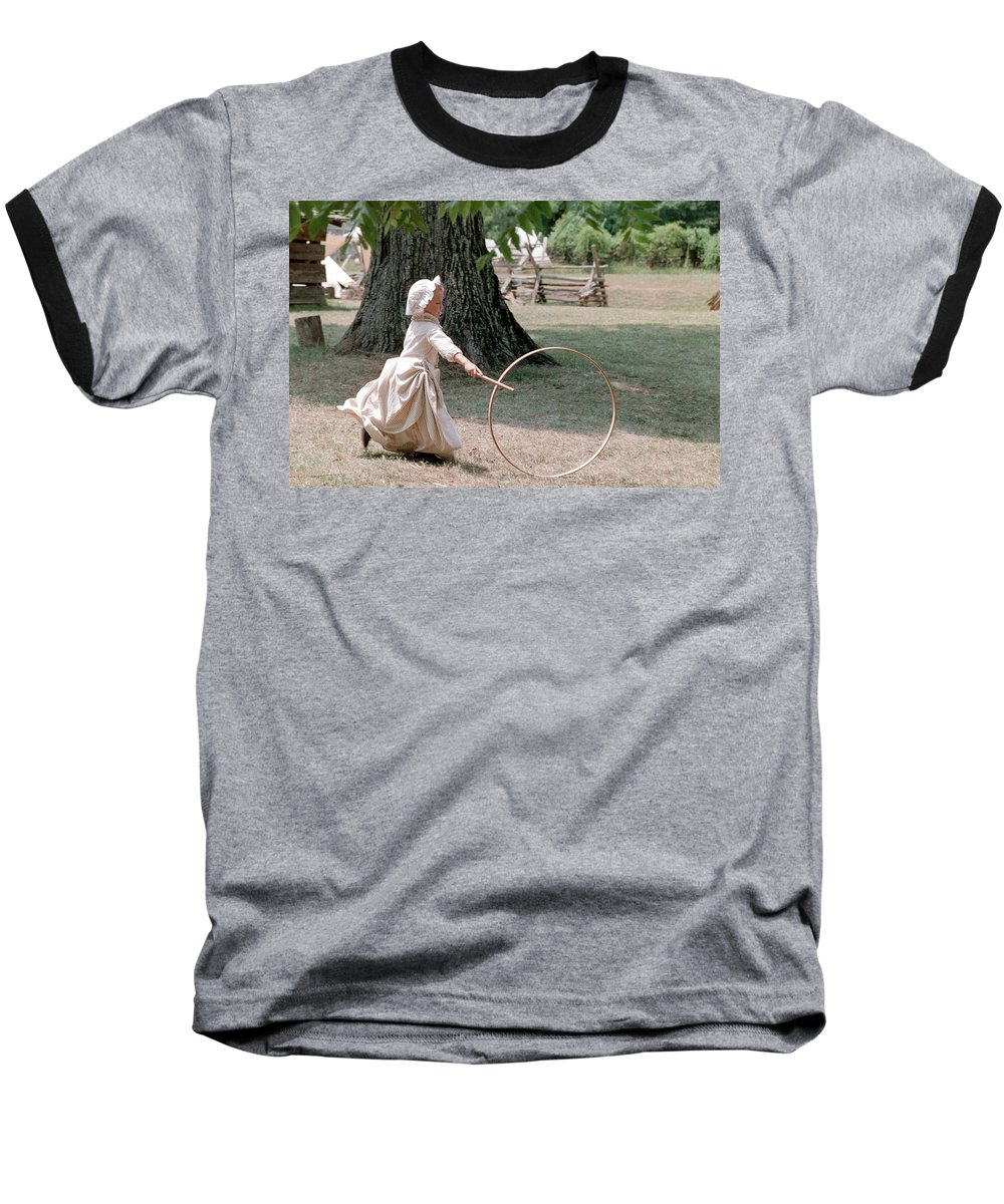 Hoop Baseball T-Shirt featuring the photograph Hoop by Flavia Westerwelle