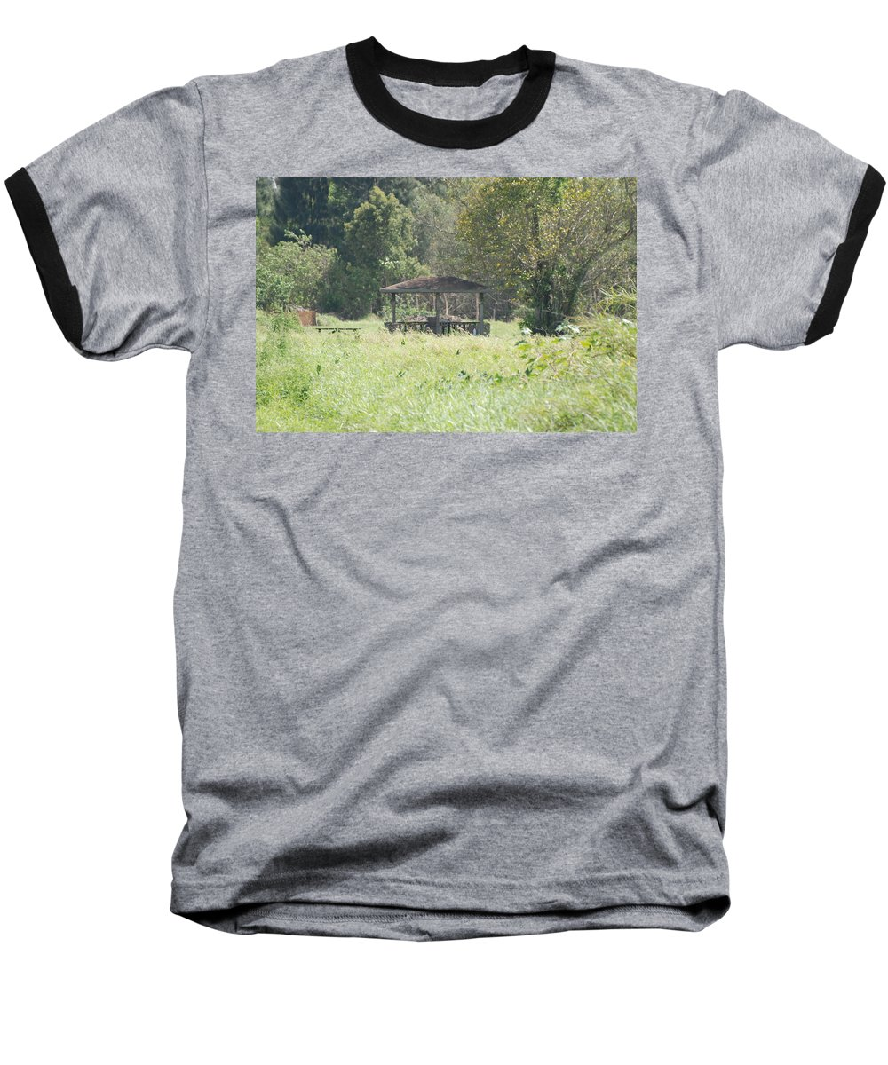 Grass Baseball T-Shirt featuring the photograph Huppa In The Fields by Rob Hans
