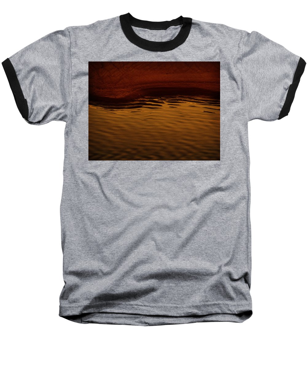 Abstract Baseball T-Shirt featuring the photograph I Want To Wake Up Where You Are by Dana DiPasquale