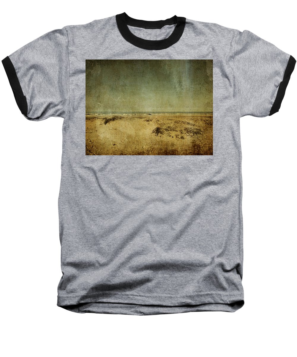 Beach Baseball T-Shirt featuring the photograph I Wore Your Shirt by Dana DiPasquale