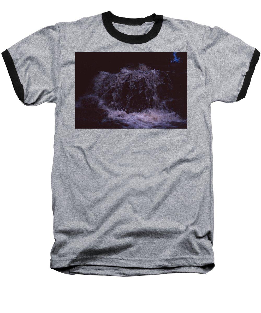 Bahia Baseball T-Shirt featuring the photograph In A Bahian Waterfall by Patrick Klauss