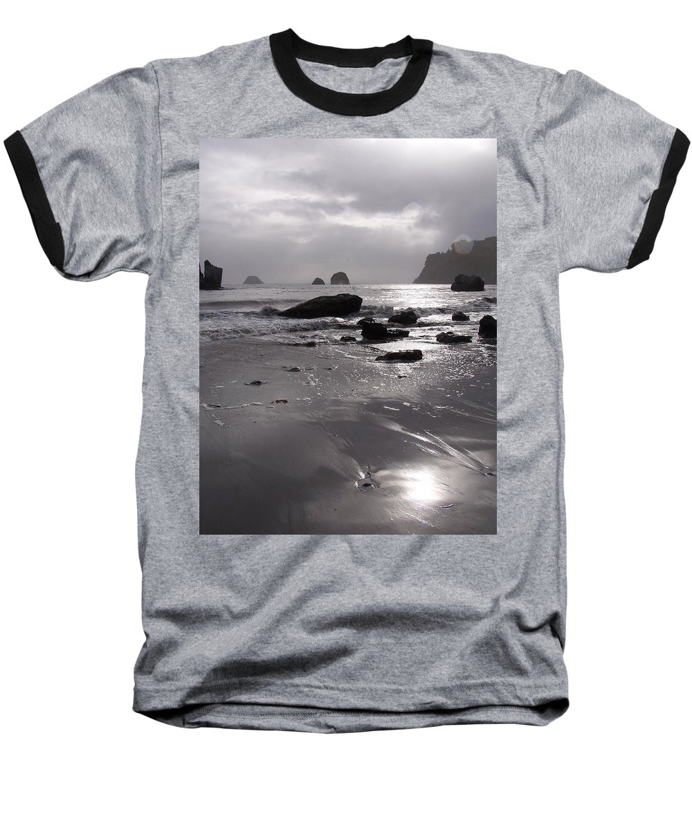 Beach Baseball T-Shirt featuring the photograph Indian Beach by Gale Cochran-Smith