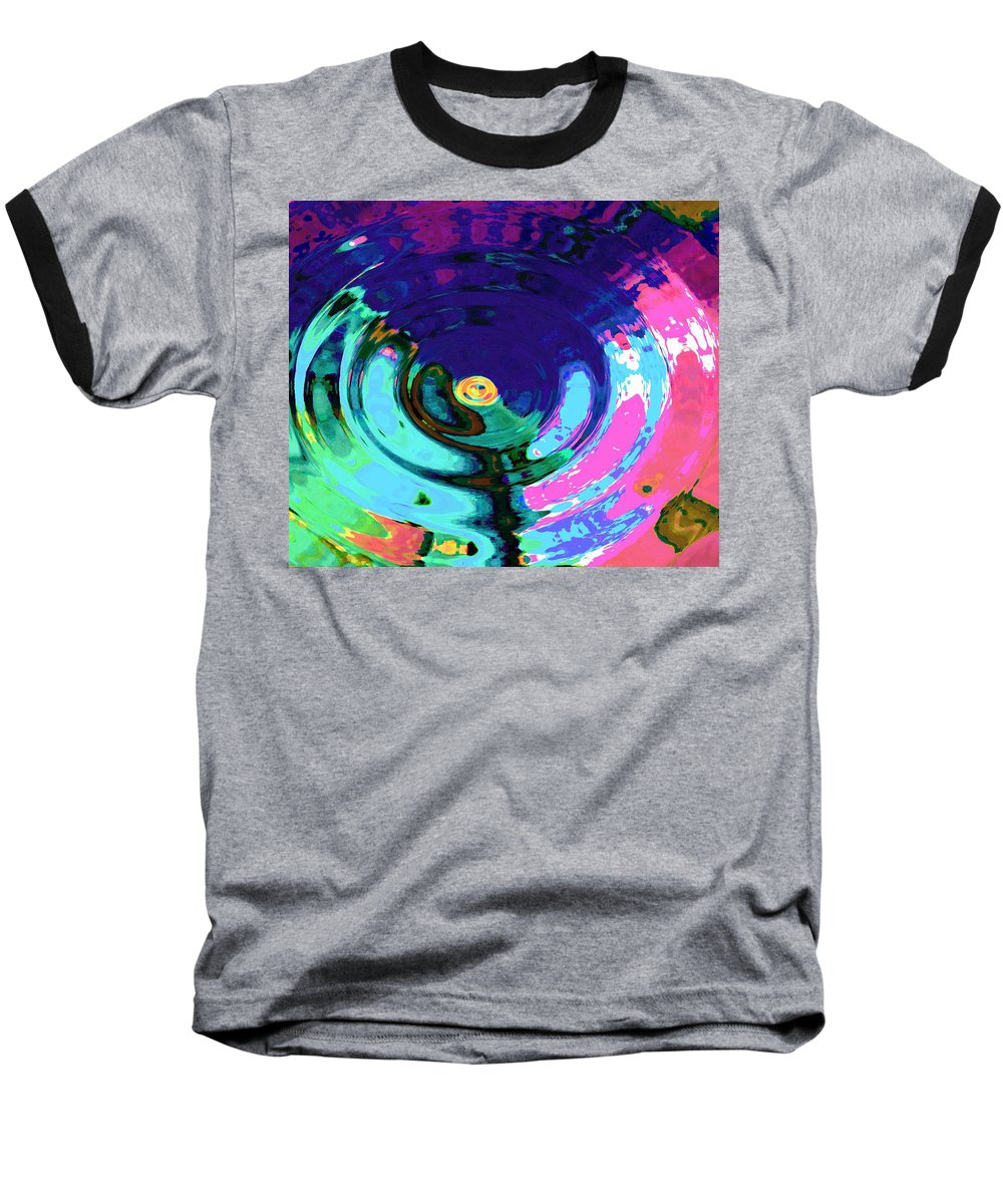 Blue Baseball T-Shirt featuring the digital art Infinity by Natalie Holland