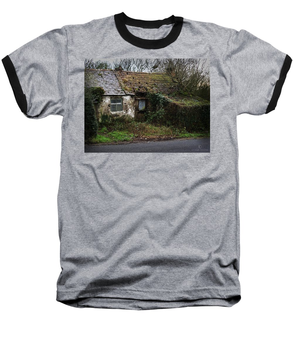 Hovel Baseball T-Shirt featuring the photograph Irish Hovel by Tim Nyberg