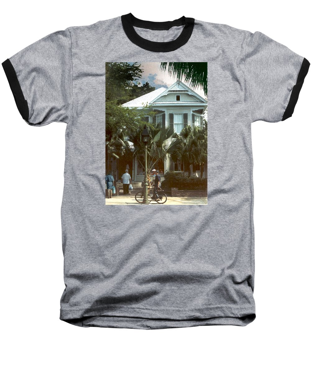 Historic Baseball T-Shirt featuring the photograph Keywest by Steve Karol