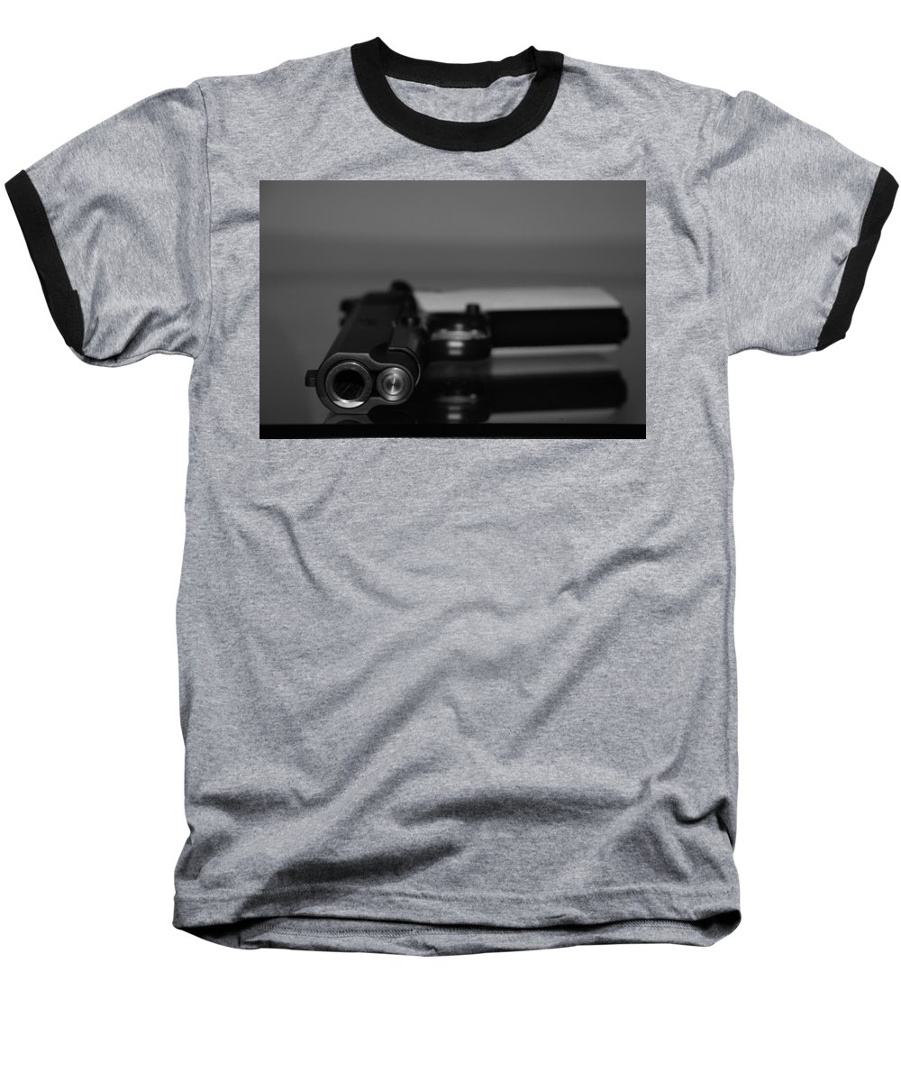 45 Auto Baseball T-Shirt featuring the photograph Kimber 45 by Rob Hans