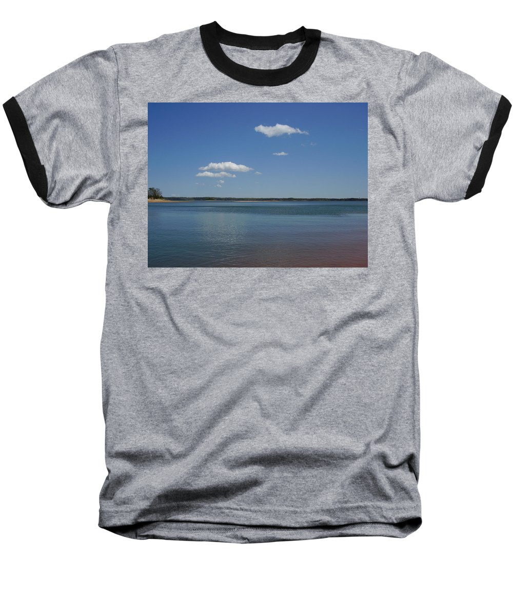 Lake Hartwell Baseball T-Shirt featuring the photograph Lake Hartwell by Flavia Westerwelle