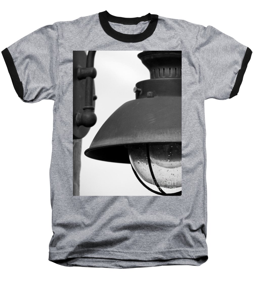 Lamppost Baseball T-Shirt featuring the photograph Lamp Post by Amanda Barcon