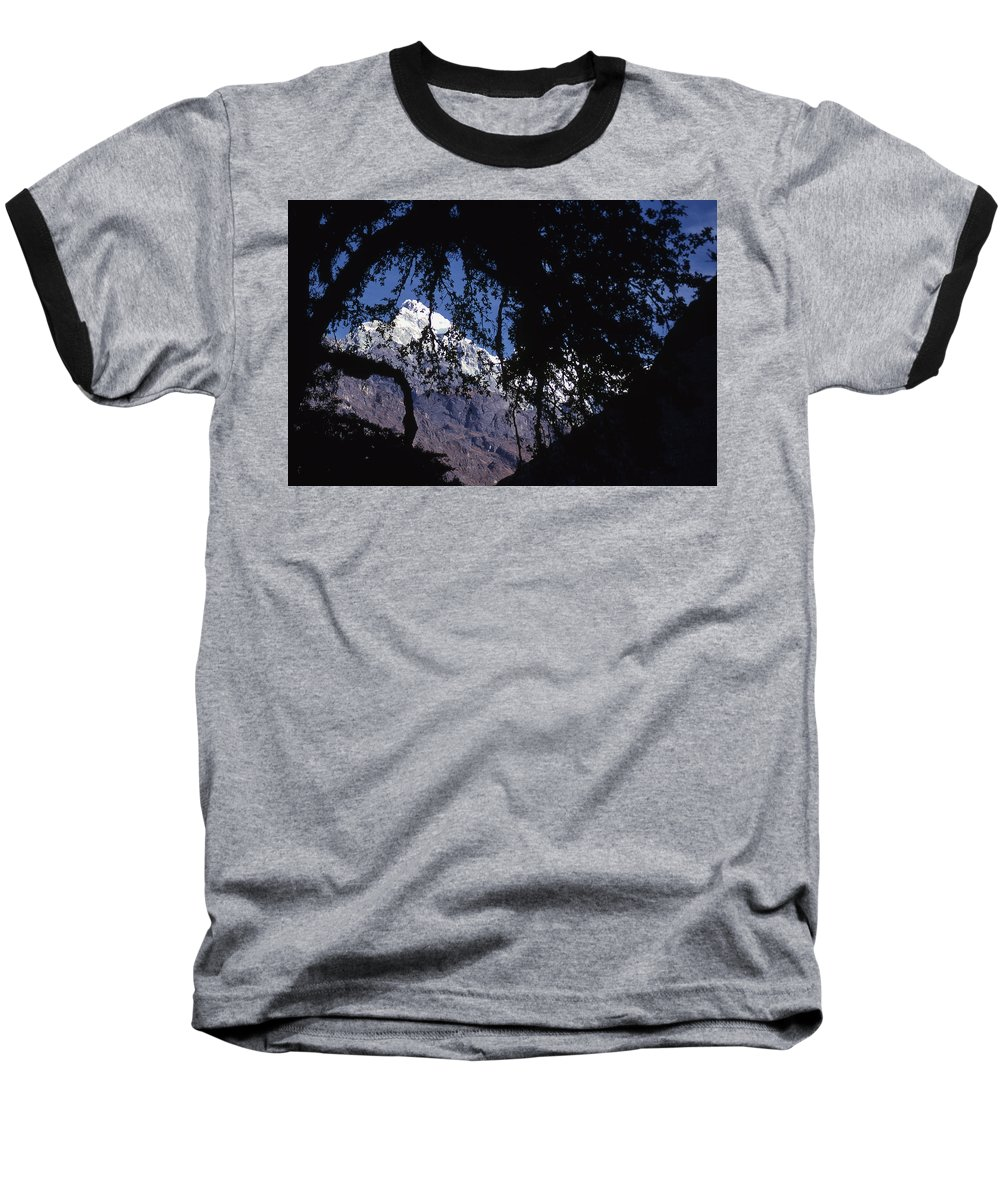 Langtang Baseball T-Shirt featuring the photograph Langtang by Patrick Klauss