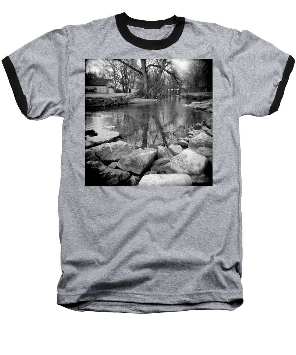 Photograph Baseball T-Shirt featuring the photograph Le Tort Reflection by Jean Macaluso