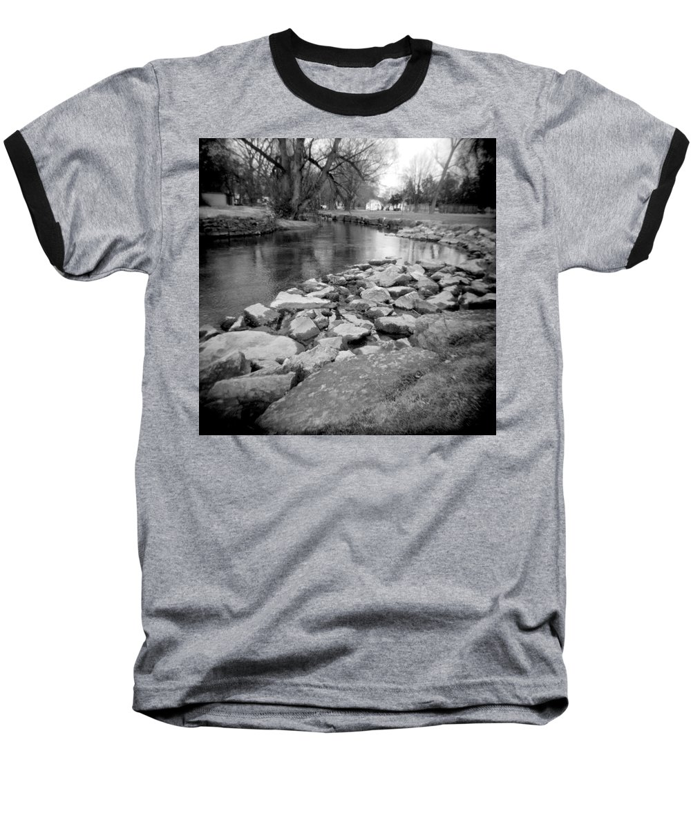 Photograph Baseball T-Shirt featuring the photograph Le Tort Spring Run by Jean Macaluso