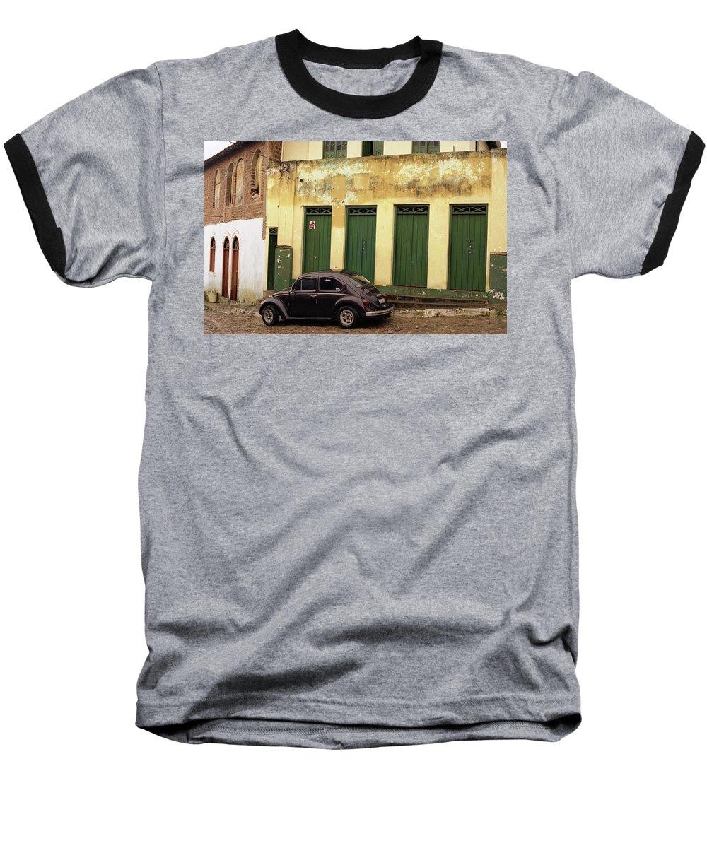 Bahia Baseball T-Shirt featuring the photograph Lencois - Bug by Patrick Klauss