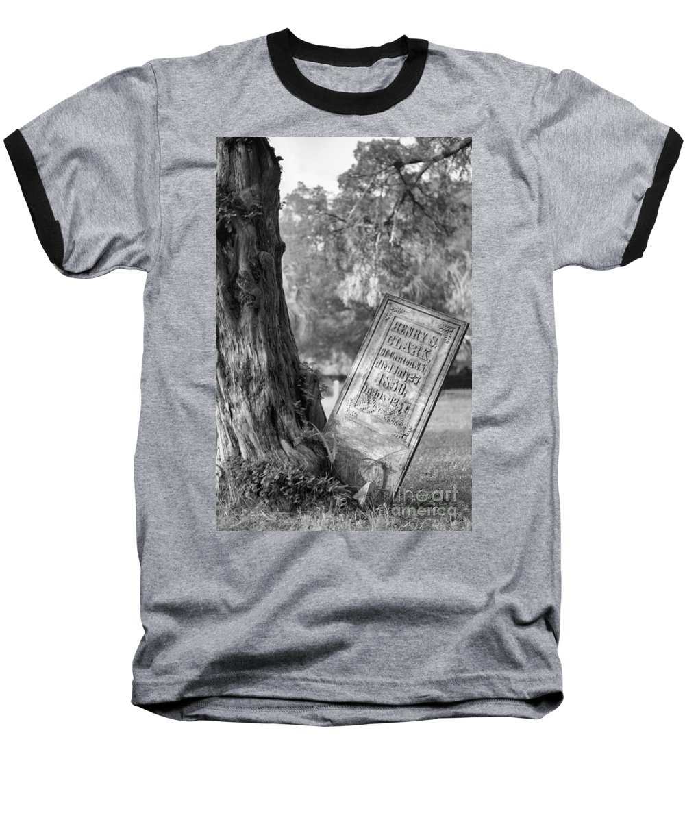 Graves Baseball T-Shirt featuring the photograph Life After Death by Richard Rizzo