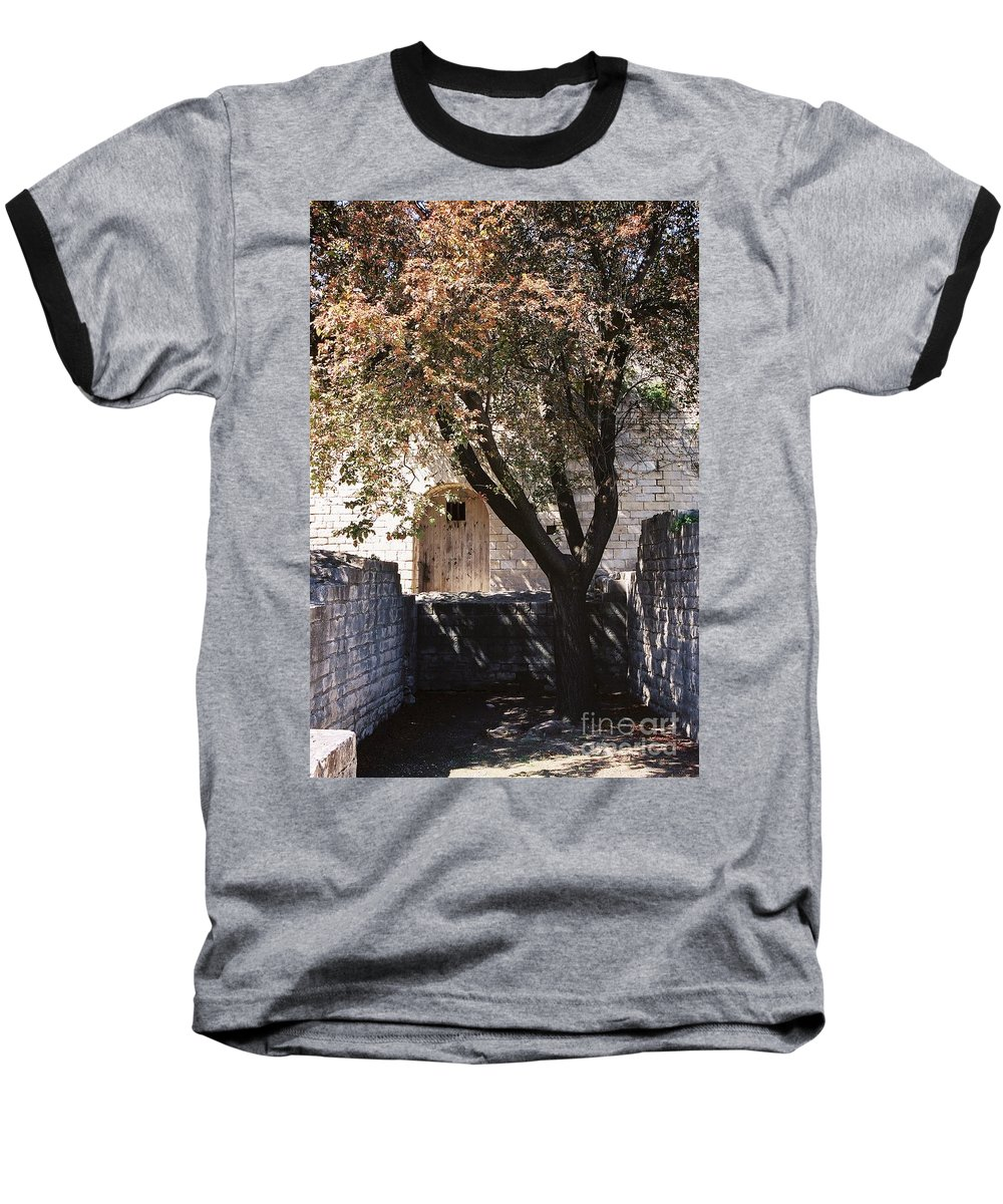 Life Baseball T-Shirt featuring the photograph Life And Death by Nadine Rippelmeyer