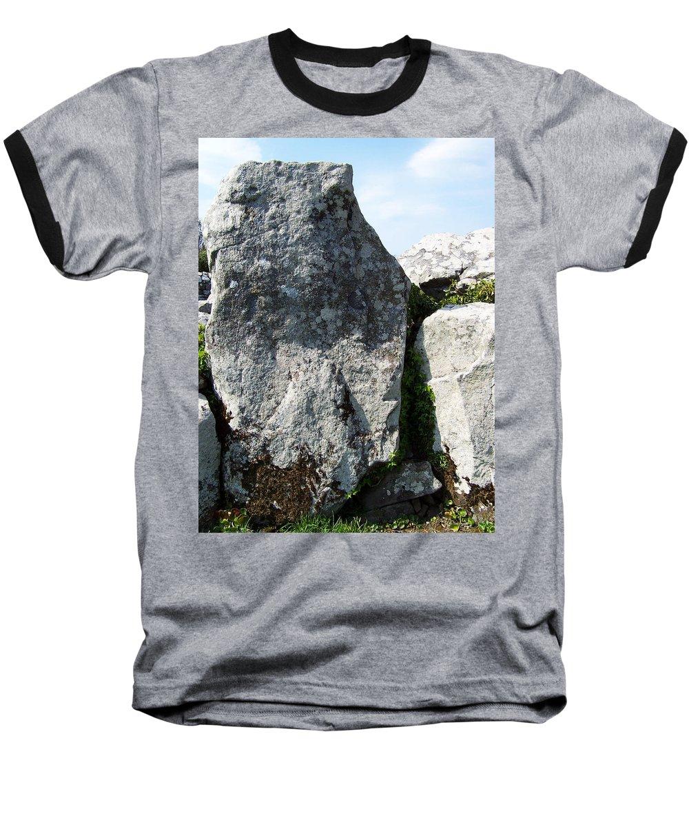 Irish Baseball T-Shirt featuring the photograph Life At Creevykeel Court Cairn Sligo Ireland by Teresa Mucha