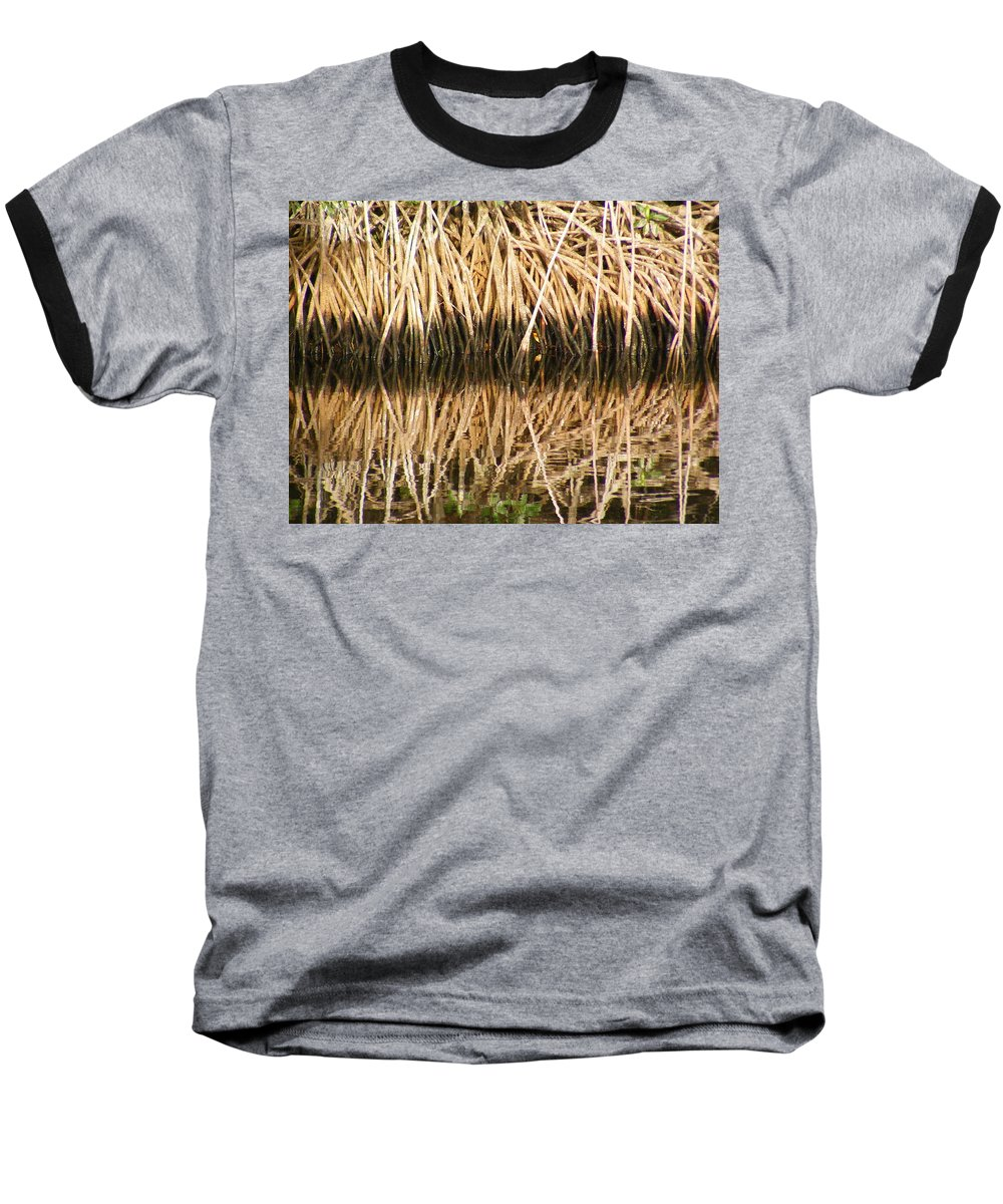 Plants Baseball T-Shirt featuring the photograph Little Feet by Ed Smith