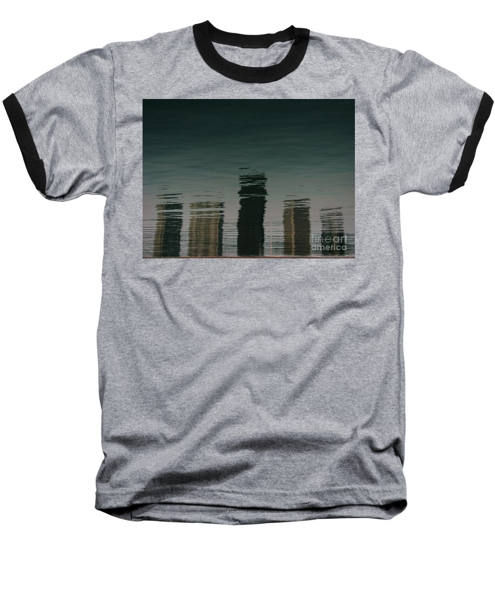 Lake Baseball T-Shirt featuring the photograph Lonely Soul by Dana DiPasquale