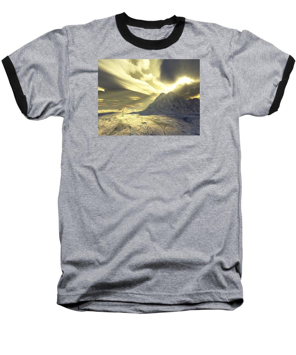 Loved Baseball T-Shirt featuring the digital art Loved - Never Forgotten by Jennifer Kathleen Phillips