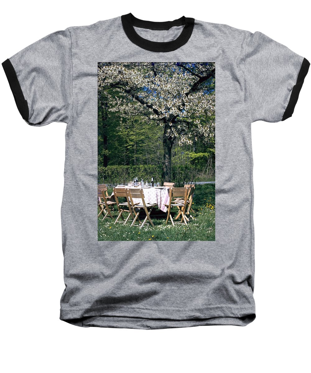 Lunch Baseball T-Shirt featuring the photograph Lunch by Flavia Westerwelle