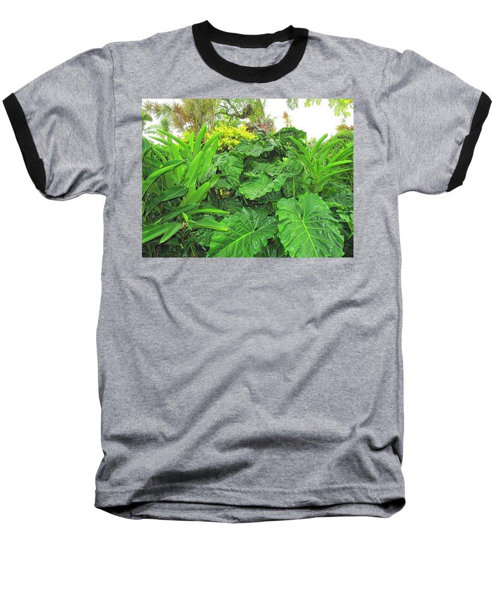 Vegetation Baseball T-Shirt featuring the photograph Lust Too by Ian MacDonald