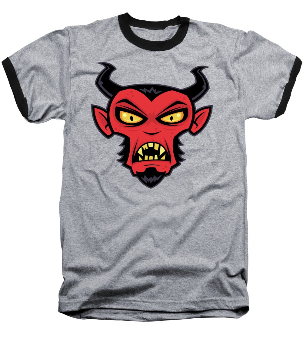 Devil Horns Baseball T-Shirts