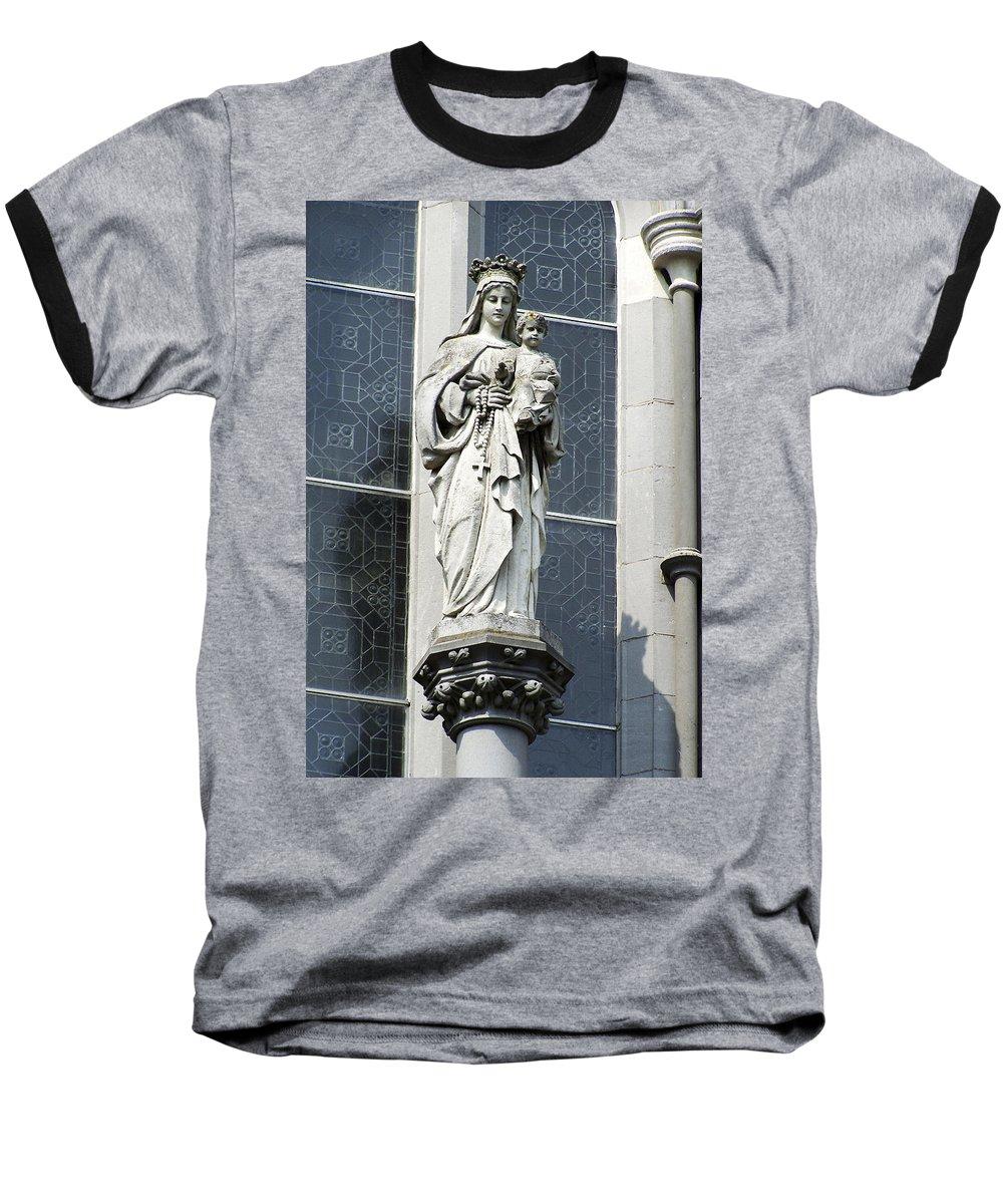 Ireland Baseball T-Shirt featuring the photograph Madonna And Child by Teresa Mucha