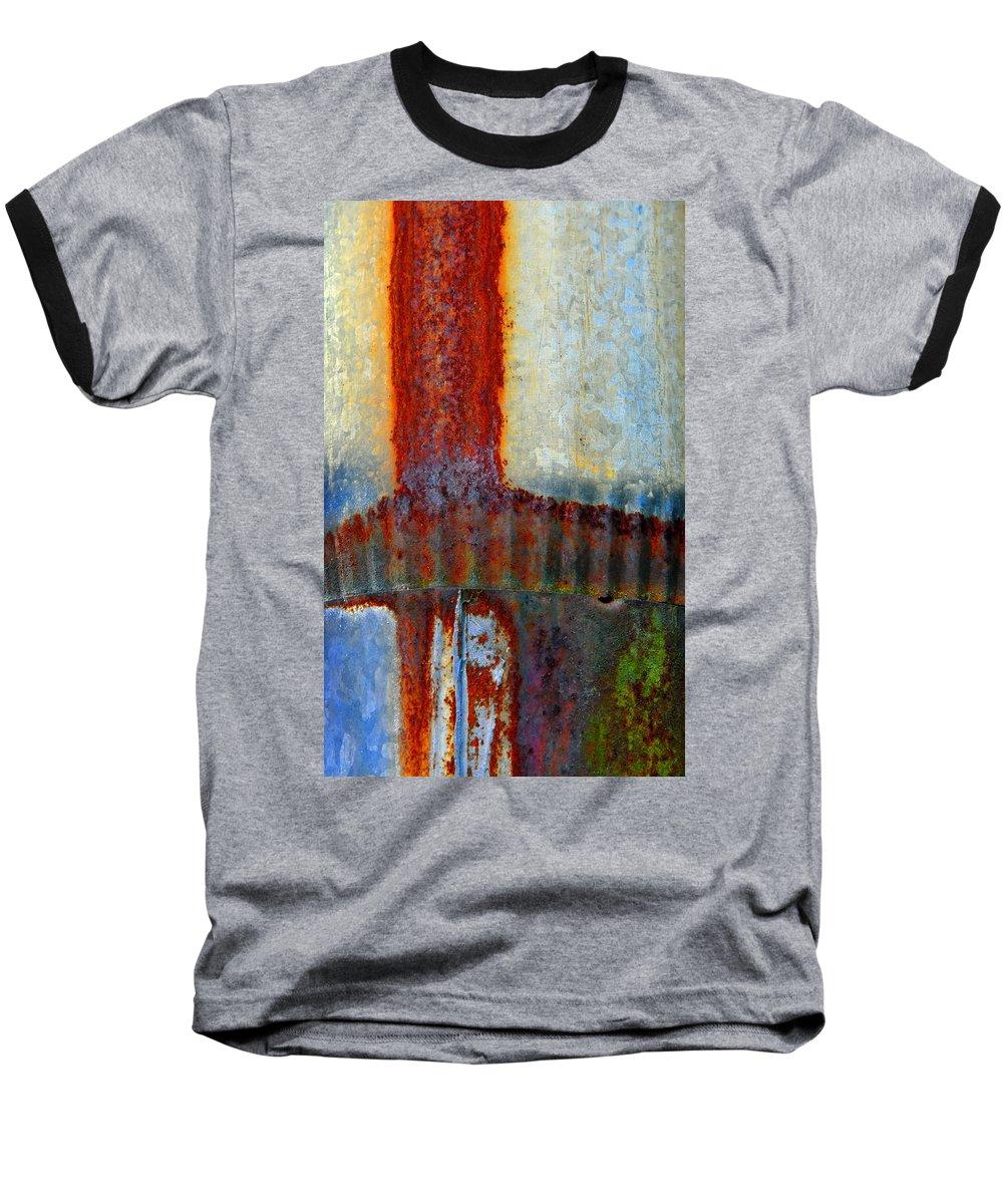 Skip Hunt Baseball T-Shirt featuring the photograph Magma by Skip Hunt