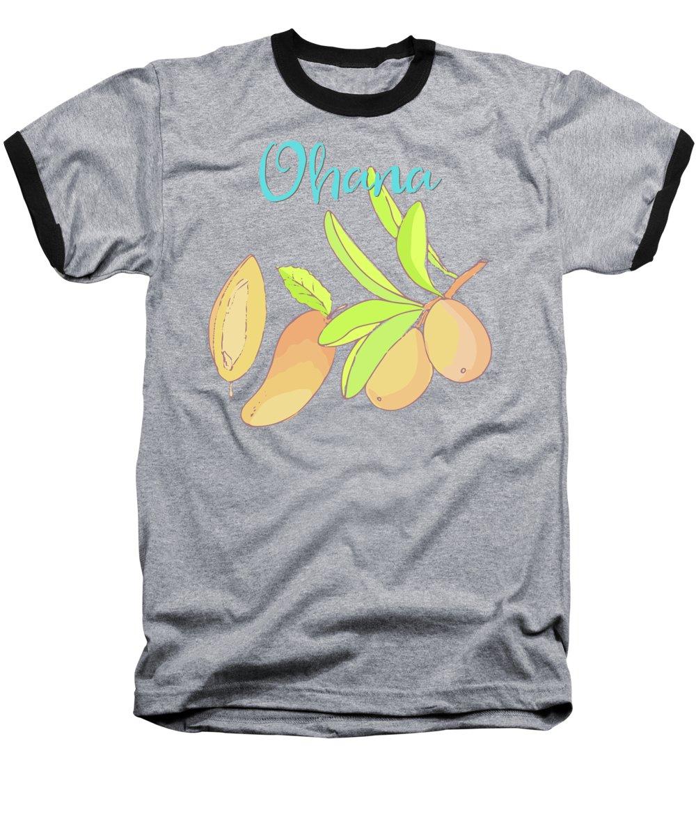 Mango Baseball T-Shirts