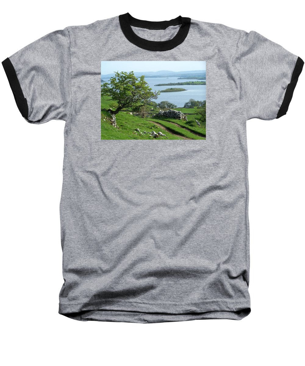 Ireland Baseball T-Shirt featuring the photograph May The Road Rise To Meet You by Teresa Mucha