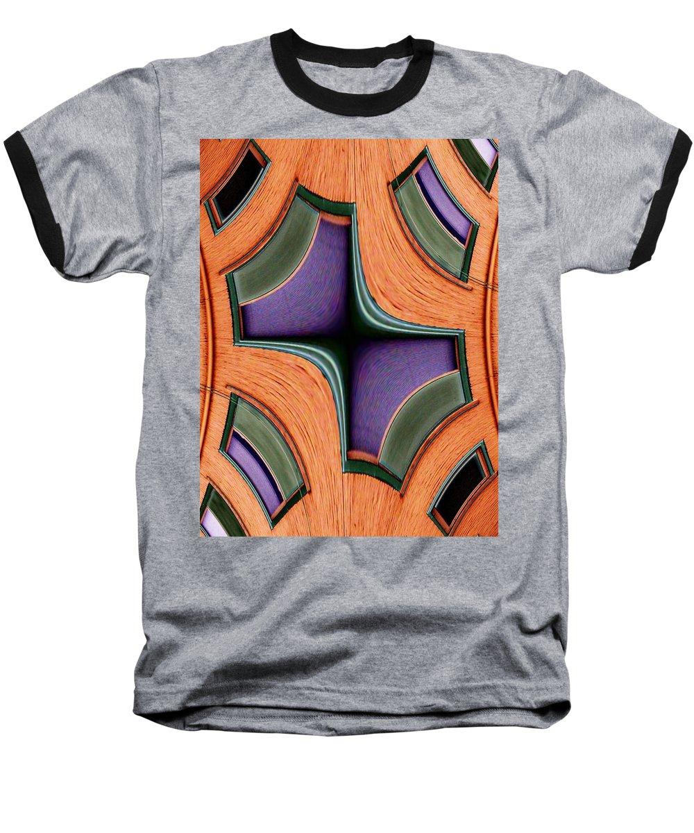 Windows Baseball T-Shirt featuring the photograph Melded Windows by Tim Allen