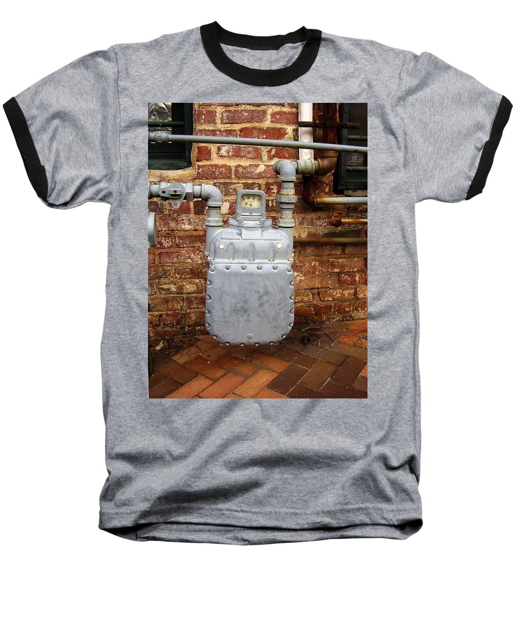 Meter Baseball T-Shirt featuring the photograph Meter II In Athens Ga by Flavia Westerwelle