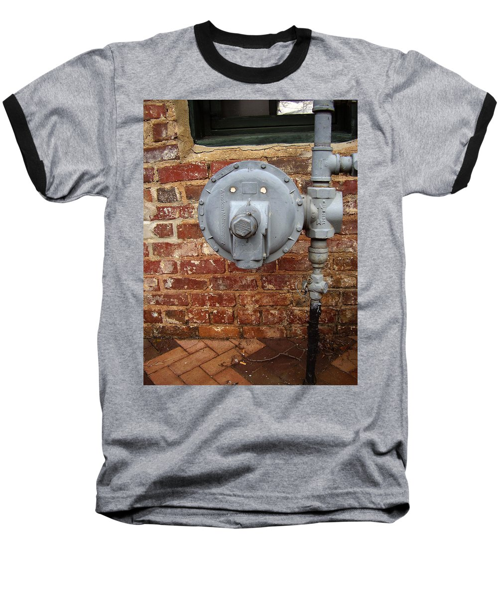Meter Baseball T-Shirt featuring the photograph Meter In Athens Ga by Flavia Westerwelle