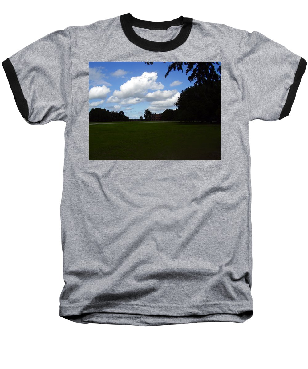 Middleton Place Baseball T-Shirt featuring the photograph Middleton Place by Flavia Westerwelle