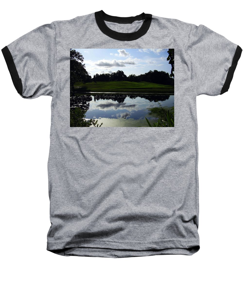 Middleton Place Baseball T-Shirt featuring the photograph Middleton Place II by Flavia Westerwelle