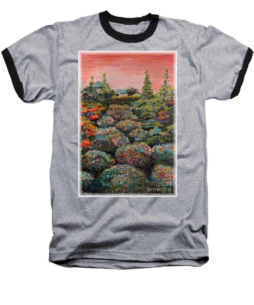 Minnesota Baseball T-Shirt featuring the painting Minnesota Memories by Nadine Rippelmeyer