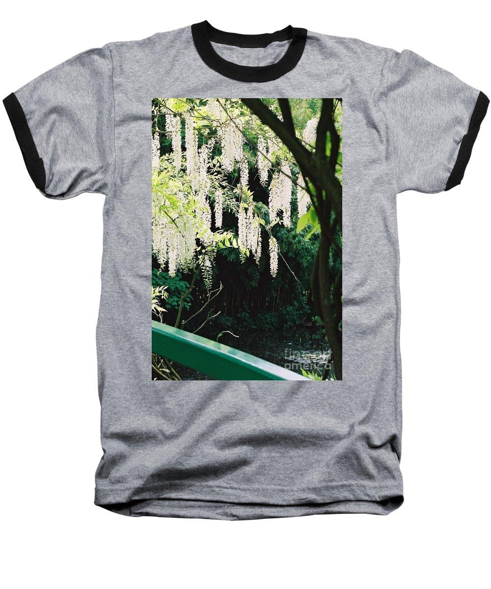 Monet Baseball T-Shirt featuring the photograph Monet's Garden Delights by Nadine Rippelmeyer