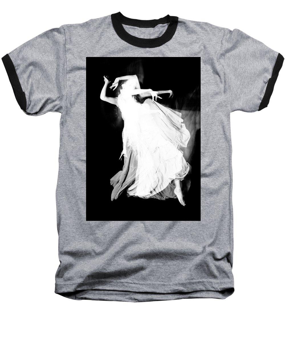 Dance Baseball T-Shirt featuring the photograph Movement by Scott Sawyer