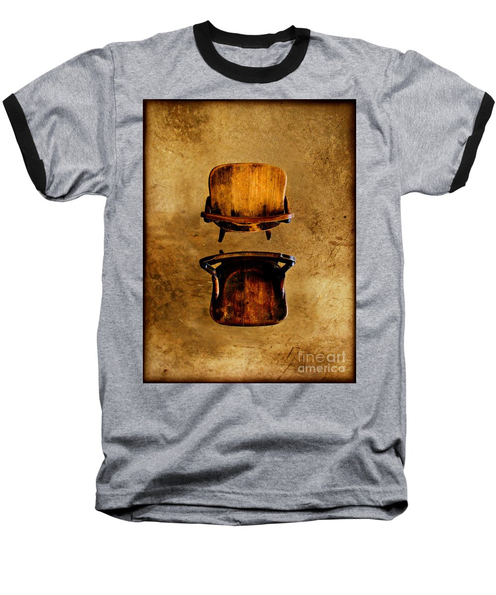 Concrete Baseball T-Shirt featuring the photograph My Arms Were Around You And I Hoped That You Wouldnt Hurt Me by Dana DiPasquale