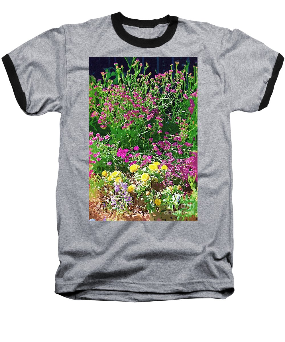 Gardens Baseball T-Shirt featuring the photograph My Garden  by Donna Bentley