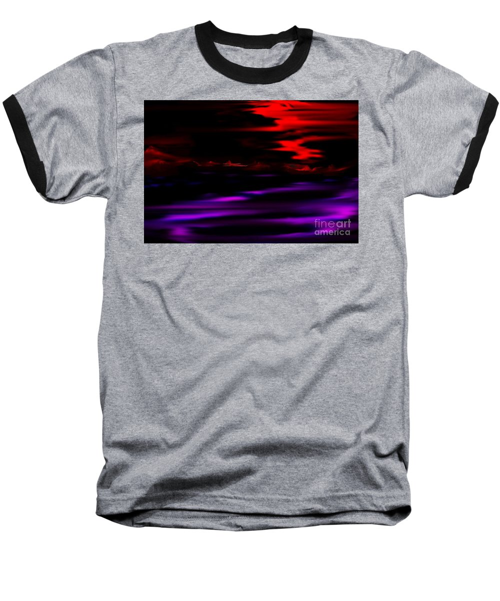 Fantasy Baseball T-Shirt featuring the digital art Mystery World by David Lane