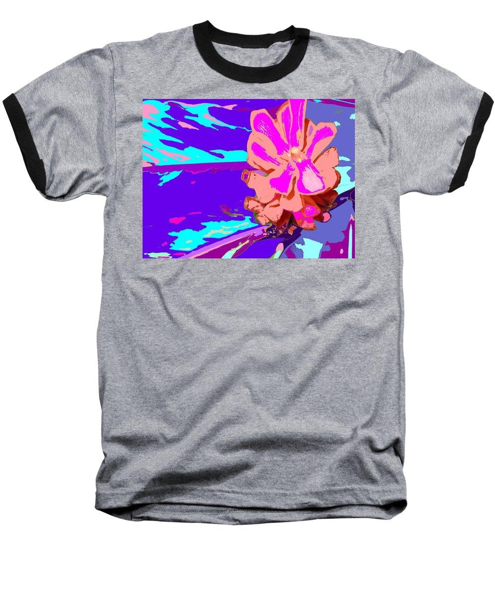 Flower Baseball T-Shirt featuring the photograph Mystical Flower by Ian MacDonald